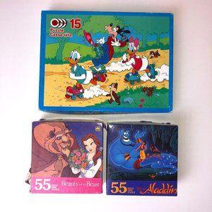 Vintage Disney Jigsaw Puzzles